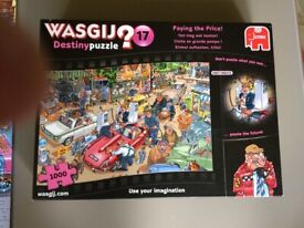 Jigsaw - Wasgij No 17 - 'Paying the Price' 1000 piece. Complete. Ex.Cond.
