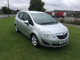61 REG VAUXHALL MERIVA 1.7 CDTi 16V S 5DR-2 KEYS-ICE COLD AIR CON-GREAT MPG-ALLOYS-GREAT DRIVING CAR