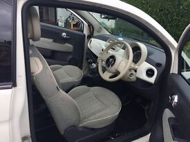 Fiat 500 lounge (low miles)
