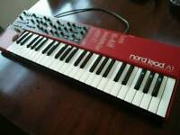 Perfect condition Nord Lead A1, including official Nord soft case