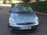 2003 Ford Fiesta 1.6 ghia 5 door hatchback silver metallic new mot taxed