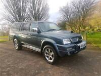 2005 MITSUBISHI L200 ANIMAL! CARRYBOY CANOPY, TWO TONE LEATHER! LOW MILES