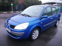 7 SEATER RENAULT GRAND SCENIC AUTOMATIC IN EXCELLENT CONDITION. MOT FEB. 2019. SERVICE HISTORY