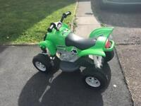 Children's electric quad
