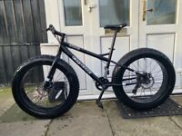 Fat Tyres Coyote mountain bike for sale