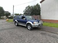 NISSAN NAVARA DOUBLE CAB PICK UP (LOW MILES)