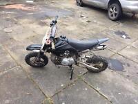 Pit bike 110cc semi