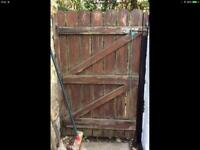 Real wooded gate upcyle collection Leeds