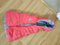 Girl Red Brand New Jacket 5-6 Years