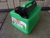 5 Litre Plastic Fuel Can for Petrol
