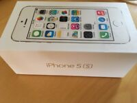 Apple iPhone 5s with box and new accessories