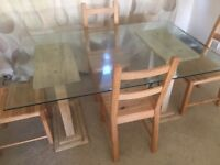 Barker and Stonehouse dining table