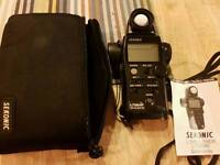 sekonic 758 DR light meter like new