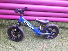 Boys Balance Bike - Strider