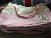 Pink Baby changing Bag. Barely used