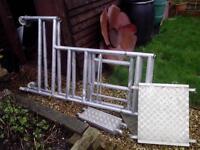 foldable portable scaffold