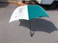 Green Jameson Whiskey golf umbrella