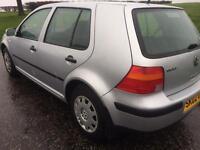 VW GOLF 1.4 LOW MILES £850