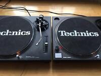 Technics 1210mk2 1210 mk2 SL-1210 pair