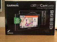 Garmin dezlCam LMT-D Truck Sat Nav with fitted DashCam