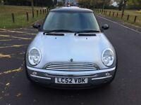 2002 MINI Hatch 1.6 Cooper 3dr HPI Clear Service History @07445775115@