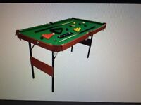 Foldable 4Ft 6Inches Snooker Table