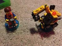 Lego dimensions fun pack Lego movie emmet and excavator