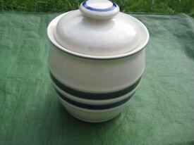 Decorative Homemaker Ceramic Airtight Biscuit Barrel for £7.00