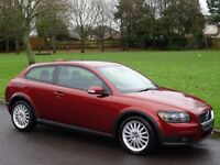 NEW MOT - 2007 (57) Volvo C30 2.0 D SE Lux 2dr - HEATED FULL LEATHER - ELECTRIC SUNROOF