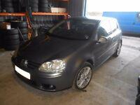 2005 VW Golf mk5 V 2.0 FSI GT BLX 2 door petrol BREAKING For PARTS SPARES