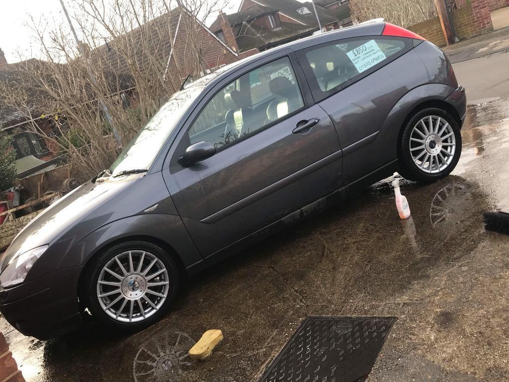 Ford Focus ST170 - leather seats, alloys - needs tlc project track