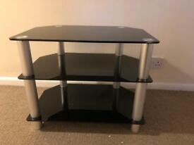FREE 3 Tier Tempered Glass TV Stand