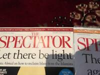 Spectator and Private Eye Magazines