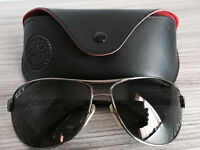 Ray Ban original sunglasses with special polarised sunlenses,costs £245,bargain£75,first to see buys