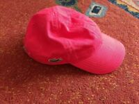 Boys Lacoste cap age 2-5 years
