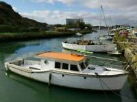 40 Foot Wooden Boat