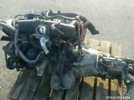 Engine bmw e36. 2.0 petrol