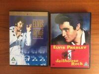 2 x Elvis Presley DVD's-That's The Way It Is/Jailhouse Rock