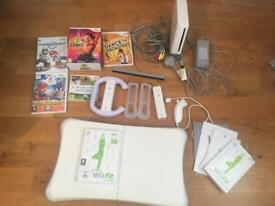 Wii Console and Wii Fit Balance Board Bundle