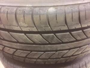 4 pneus d'été Zeta, ZTRIO, 205/55/16, 30% d'usure, mesure 7-8/32