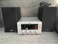 JVC MICRO DAB AUDIO HI-FI CD STEREO BLUETOOTH RADIO UX-D 150