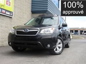 2014 Subaru Forester TOURING TOIT *80$/semaine
