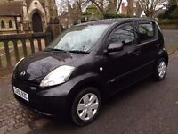 2007 DAIHATSU SIRION 1.3 S 31300 MILES WITH SERVICE HISTORY AIR CON REAR PARKING SENSOR (NOT YARIS)