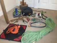 Climbing kit and stihl ms201T