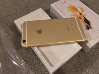 IPHONE 6S GOLD BARELY USED