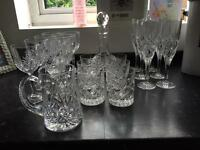 Royal Doulton Lead Crystal Glass Set