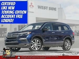 "2016 Honda Pilot Touring  ""PLUS!! 10 YEAR 200,000 KM WARRANTY"""