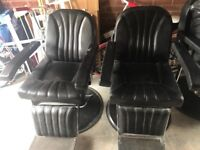 3x barber chairs available