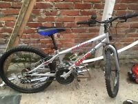 Boys falcon trials bike 14 inch