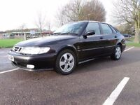 Saab 9-3 TID *Fast* FSH Tow Bar low mileage